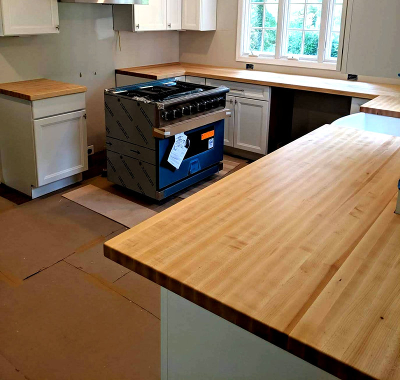 Wood Countertops New Jersey Home